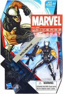 Marvel Universe 3 3/4 Inch Series 22 Action Figure #011 X-Force Wolverine