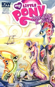 My Little Pony Friendship Is Magic Comic Book #14 Cover B