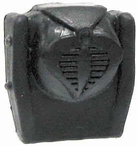 GI Joe 3 3/4 Inch LOOSE Action Figure Accessory Black Cobra Backpack