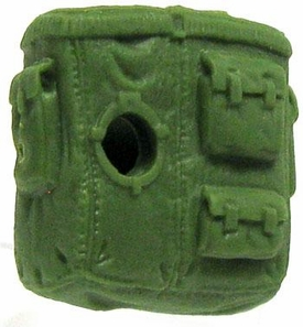 GI Joe 3 3/4 Inch LOOSE Action Figure Accessory Green Open Backpack