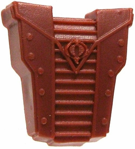 GI Joe 3 3/4 Inch LOOSE Action Figure Accessory Red Cobra Backpack