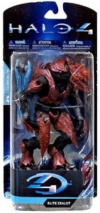 Halo 4 McFarlane Toys Series 1 Action Figure Elite Zealot [Tall Card Variant]