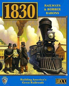 Mayfair Games 1830 Railways And Robber Barons Board Game