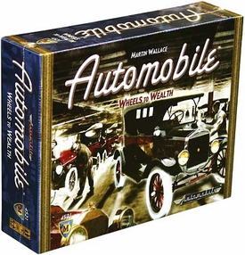 Automobile Wheels to Wealth Board Game