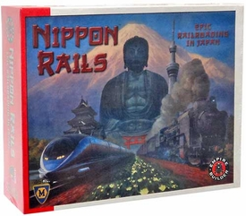 Mayfair Games Empire Builder Nippon Rails Board Game