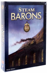 Mayfair Games Steam Barons Board Game