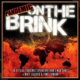Z-Man Games Pandemic On The Brink Board Game Expansion