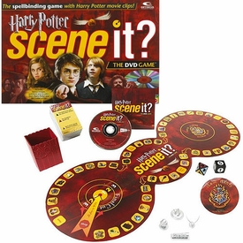 Harry Potter Scene It? the DVD Board Game