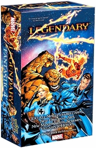 Legendary Upper Deck Marvel Deck Building Game Fantastic 4 Expansion