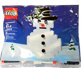 LEGO Mini Figure Set #40003 Snowman [Bagged]