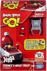 Angry Birds GO! Jenga Game Terence's Mega Truck