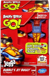 Angry Birds GO! Jenga Game Bubble's Jet Buggy