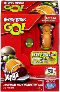 Angry Birds GO! Jenga Game Corporal Pig's Roadster