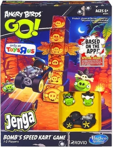 Angry Birds GO! Exclusive Jenga Bomb's Speed Kart Game