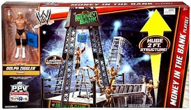 Mattel WWE Wrestling Exclusive Ring Playset Money in The Bank [Dolph Ziggler Action Figure!]
