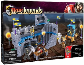 True Legends Mega Bloks Set Dungeon of Doom