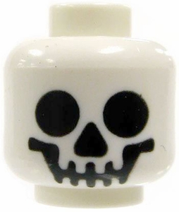 LEGO LOOSE Head Smiling Skull