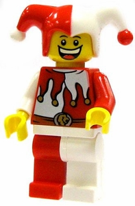LEGO LOOSE Complete Human Mini Figure Court Jester