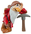 Disney Snow White Exclusive 3 inch PVC Figurine Grumpy