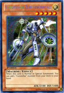 YuGiOh Zexal Hidden Arsenal 7: Knight of Stars Single Card Secret Rare HA07-EN009 Constellar Zubeneschamali