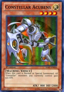 YuGiOh Zexal Hidden Arsenal 7: Knight of Stars Single Card Super Rare HA07-EN044 Constellar Acubens