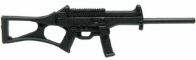 GI Joe 3 3/4 Inch LOOSE Action Figure Accessory Black Custom Assault Rifle