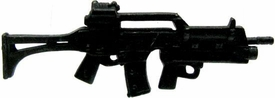 GI Joe 3 3/4 Inch LOOSE Action Figure Accessory Black G36 Assault Rifle with Underslung Grenade Launcher
