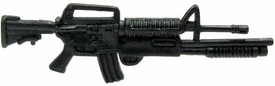 GI Joe 3 3/4 Inch LOOSE Action Figure Accessory Black M16 with Masterkey
