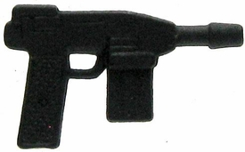 GI Joe 3 3/4 Inch LOOSE Action Figure Accessory Black Machine Pistol