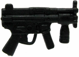 GI Joe 3 3/4 Inch LOOSE Action Figure Accessory Black MP5 with Foregrip BLOWOUT SALE!