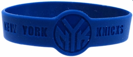 Official NBA Team Rubber Bracelet New York Knicks (Blue)