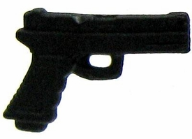 GI Joe 3 3/4 Inch LOOSE Action Figure Accessory Black Pistol [Style 1]