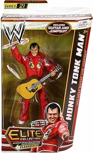 Mattel WWE Wrestling Elite Series 21 Action Figure Honky Tonk Man [Guitar & Jumpsuit!]