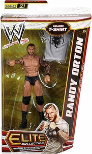 Mattel WWE Wrestling Elite Series 21 Action Figure Randy Orton [T-Shirt!]