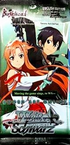 Weiss Schwarz ENGLISH Sword Art Online Vol. 1 Booster Pack