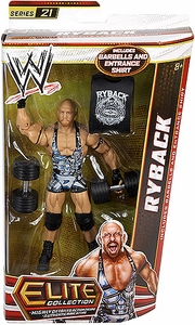 Mattel WWE Wrestling Elite Series 21 Action Figure Ryback [Barbells & Entrance Shirt!]