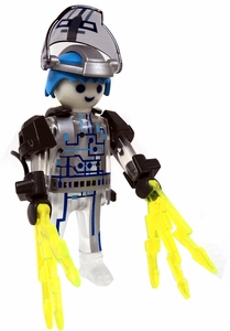 Playmobil Fi?ures Series 3 LOOSE Mini Figure Cyber Warrior