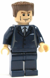 LEGO Spider-Man LOOSE Mini Figure Norman Osborn [Blue Suit]