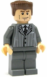 LEGO Spider-Man LOOSE Mini Figure Norman Osborn [Gray Pinstripe Suit]