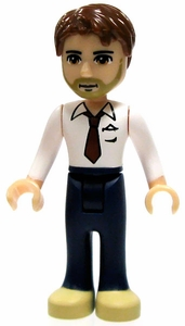LEGO Friends LOOSE Mini Figure Peter  [White Shirt & Red Tie, Blue Trousers]