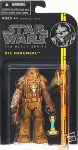 Star Wars Black 3.75 Inch Series 3 Action Figure Merumeru [Episode III]
