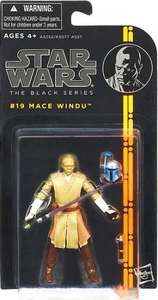 Star Wars Black 3.75 Inch Series 3 Action Figure Mace Windu