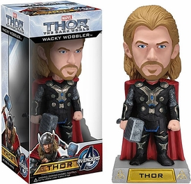 Funko Marvel Thor 2 Dark World Wacky Wobbler Bobble Head Thor