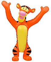 Disney Winnie The Pooh Exclusive 3 Inch PVC Figure Tigger