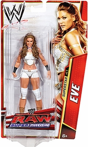 Mattel WWE Wrestling Basic Series 25 Action Figure #11 Eve Torres
