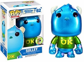 Funko POP! Disney Monsters University 2013 SDCC San Diego Comic-Con Exclusive Vinyl Figure Sulley [Metallic]
