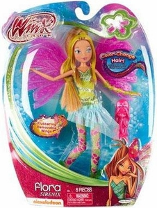 Winx Club Sirenix 11.5 Inch Fashion Doll Flora