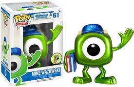 Funko POP! Disney Monsters University 2013 SDCC San Diego Comic-Con Exclusive Vinyl Figure Mike Wazowski [Metallic]