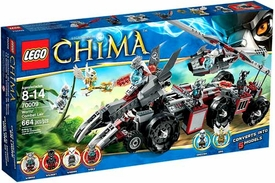LEGO Legends of Chima Set #70009 Worriz Combat Lair