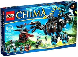 LEGO Legends of Chima Set #70008 Gorzans Gorilla Striker
